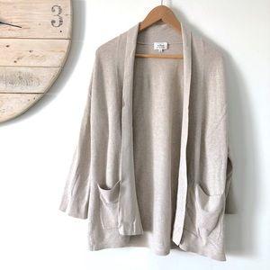 Aritzia | Wilfred Silk & Cashmere Kimono Cardigan